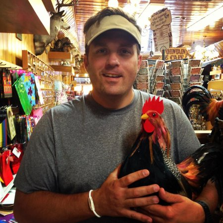 Wall Drug: Roosters abound...