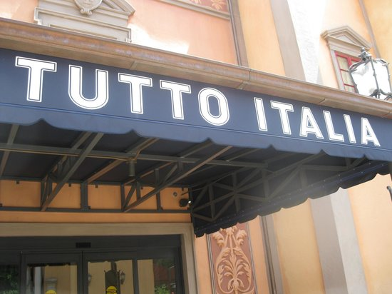 Tutto Italia Ristorante: Outside of the restaurant