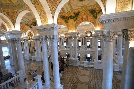 ห้องสมุดคองเกรส: Interior