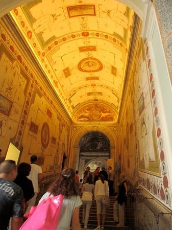Italy Rome Tour: Such beauty throughout the Vatican and its museums. Alessandra taught us so much!