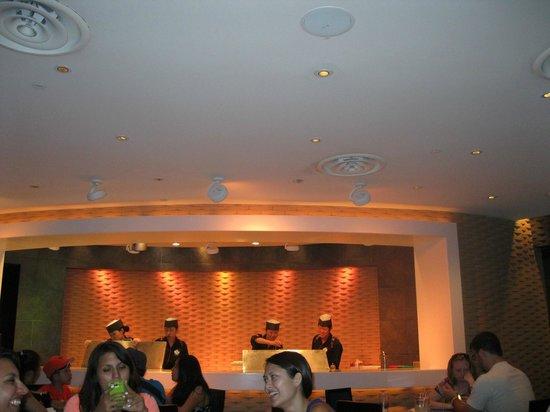 Tokyo Dining: Inside the restaurant