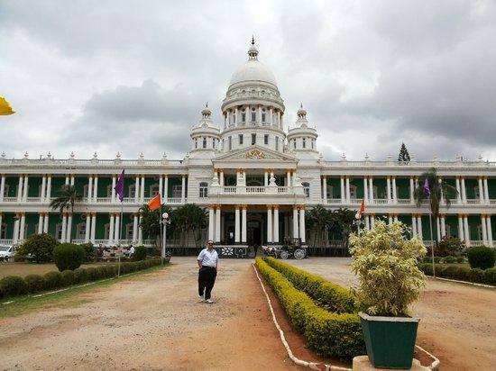 Lalitha Mahal Palace Hotel: front view