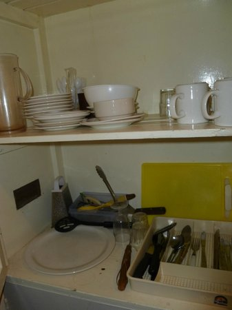 Bronte Park Village: kitchen cupboard