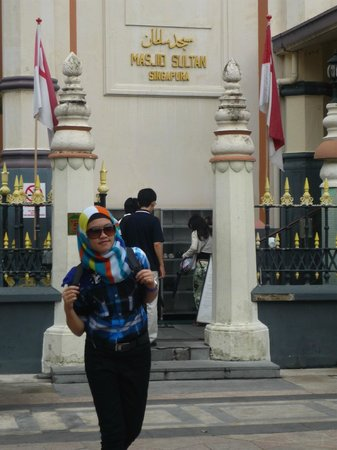 Smiggle: sultan mosque.,