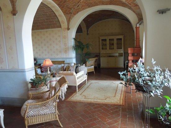 Borgo Argenina: Living area