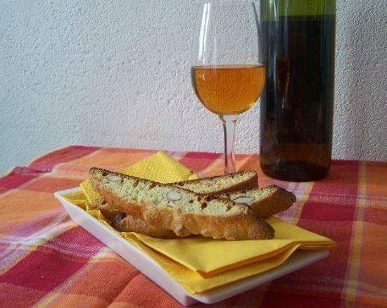 Taverna Firenze: clasico biscocho de toscana cantuccini di prato