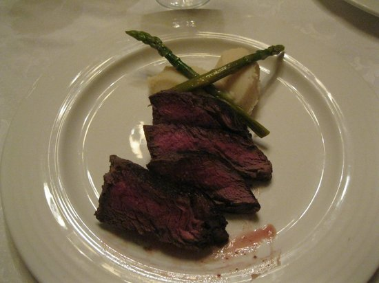 Grand Bahia Principe Jamaica: Chateaubriand at the Don Pablo restaurant