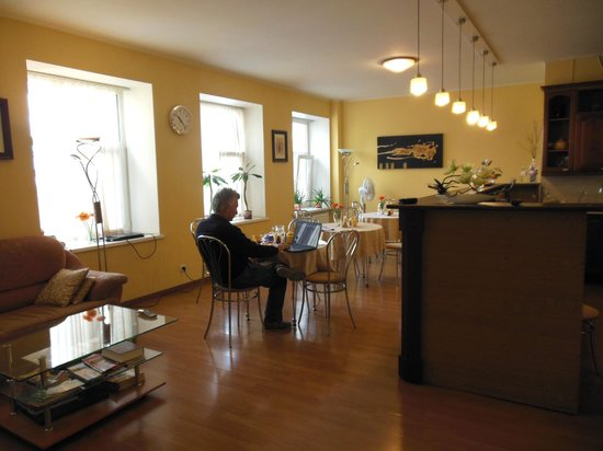 Nevsky Inn 1 Bed and Breakfast: kitchen and dining