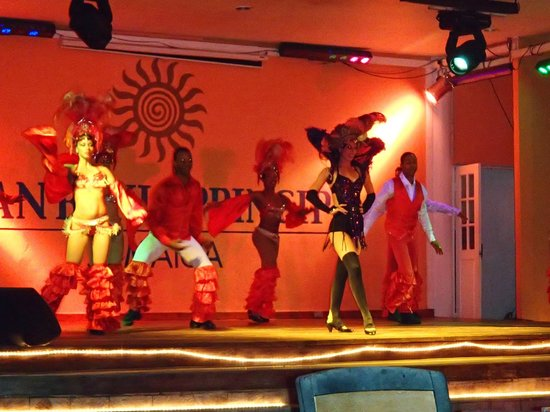 Grand Bahia Principe Jamaica: International dance show