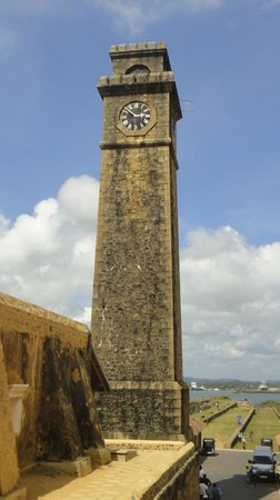 Galle Fort: the FORT clock