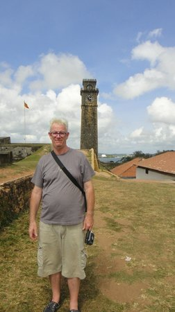 Galle Fort: trying not to look to bored !!!!