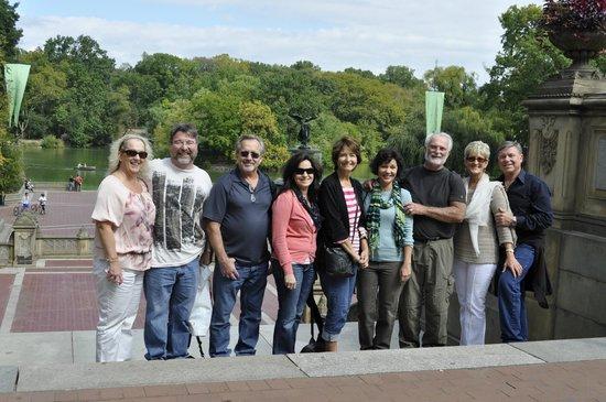 Peter Pen Tours of Central Park: Big group