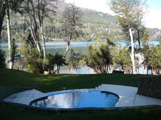 Hosteria Patagonia Paraiso: Vista desde la habitacion Rupestre