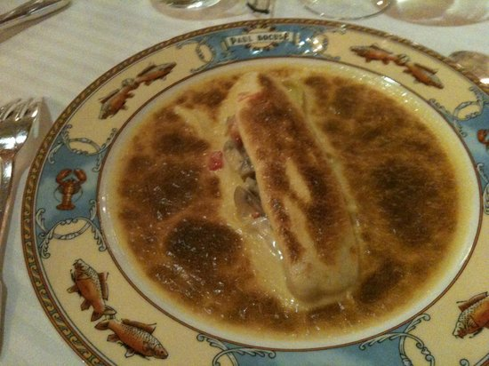 Restaurant Paul Bocuse: Fisch