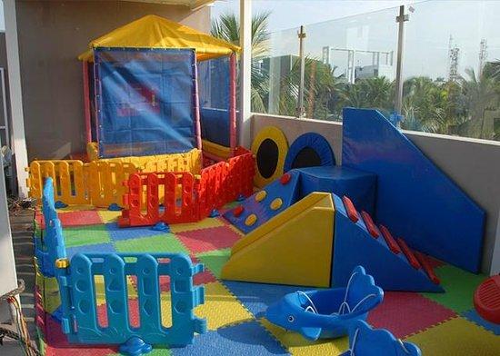Vijay Park inn: Kids Play Area