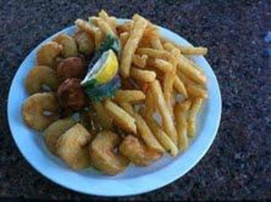 Dockside Cafe: Shrimp Platter