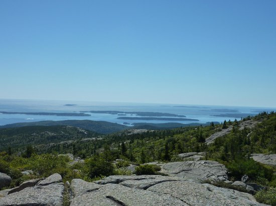 Acadia National Park: View from Cadillac Mountain