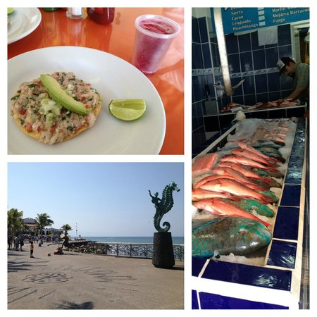 Vallarta Food Tours: Ceviche, El Malecon, Fish Market