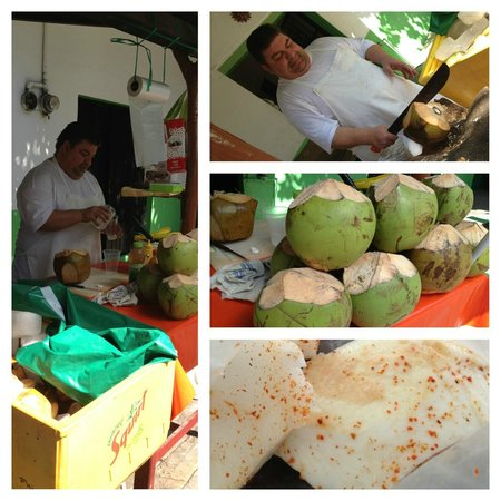 Vallarta Food Tours: Fresh Coconut Juice