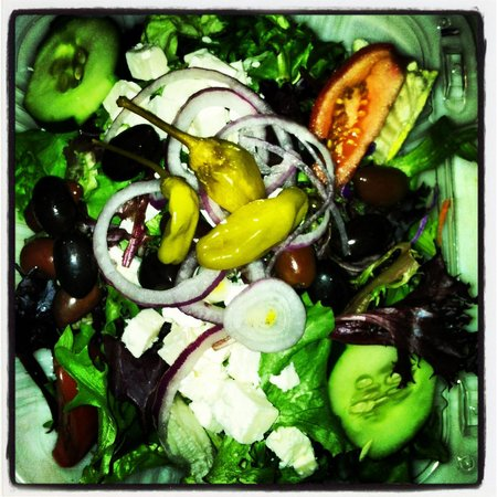 Rock that plate: Greek Salad