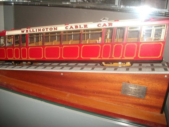 Wellington Cable Car: at the museum