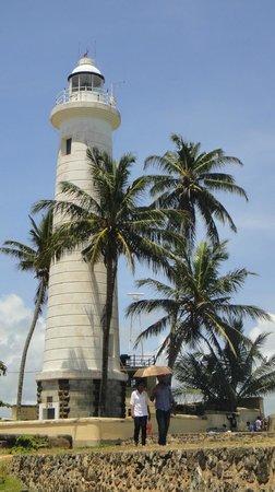 Galle Fort Lighthouse: Impressive lighthouse