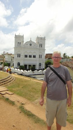 Galle Fort Lighthouse: many tourists for this attraction