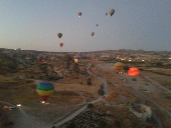 Hot Air Ballooning Cappadocia: Panorama visto do Balão