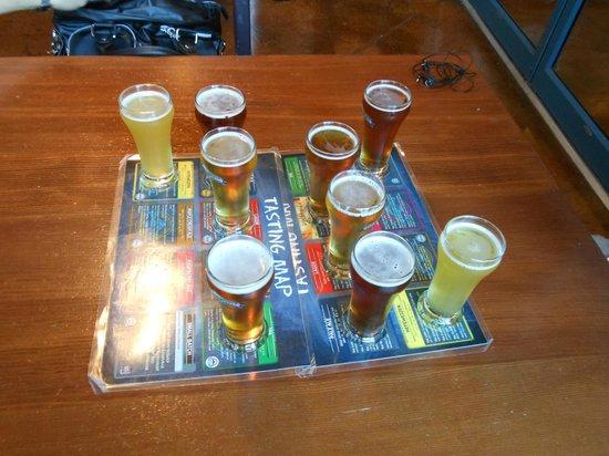 Granville Island Brewing: tasting