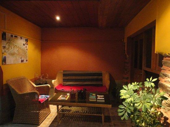 Hostal Chayana Wasi: sitting area