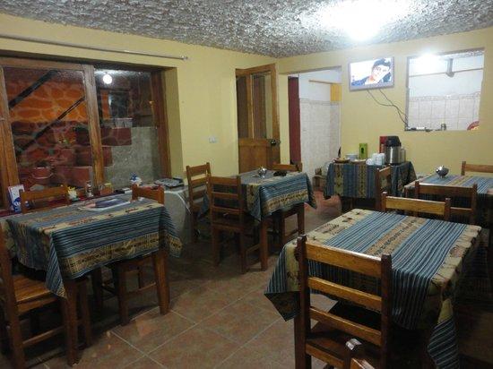 Hostal Chayana Wasi : dining room
