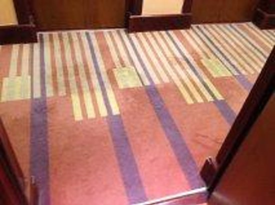 Sofitel Athens Airport: hallway carpet