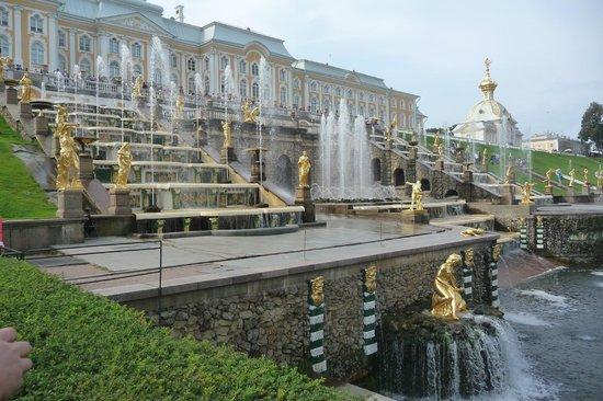Alla Tours: Peterhof Gardens, St.Petersburg