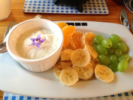 Riverside House: Vegetarian breakfast 2