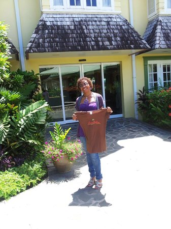 Coco Palm Resort: Farewell gift