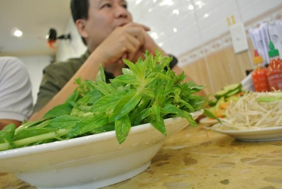 Pho Hung: Variety of Vegetables