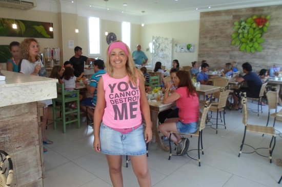 Hotel Don Quijote: Lista para desayunar