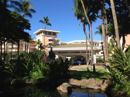 Grand Wailea - A Waldorf Astoria Resort: Entrance to the Grand Wailea