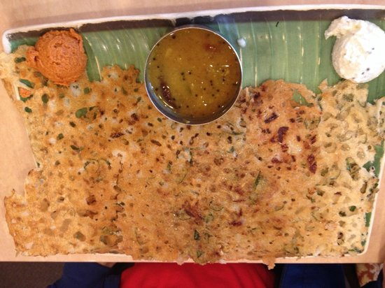 House of Dosas: A Vindaloo Dosa; Thank to my friend EW who did the pics for me