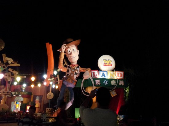 ฮ่องกงดิสนีย์แลนด์: Toy Story Land