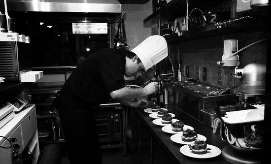 Bla's: Chef na cozinha