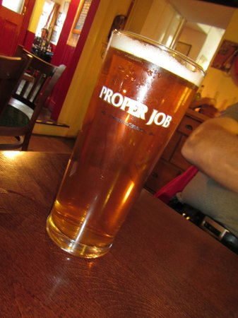 The London Inn: One of the real ales