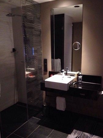 Legere Hotel Tuttlingen: Sink outside the bathroom.