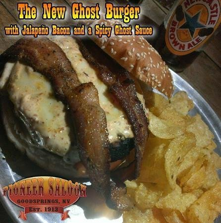 Pioneer Saloon: Ghost Burger - Half Pound Certified Angus