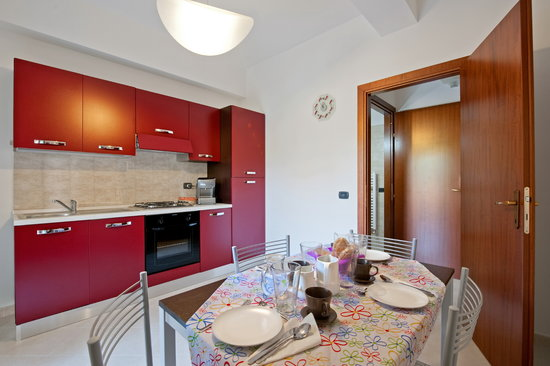 B&B La Casetta Ladispoli: cucina