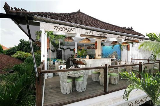 La Plage: Restaurant Terrasse Upstairs