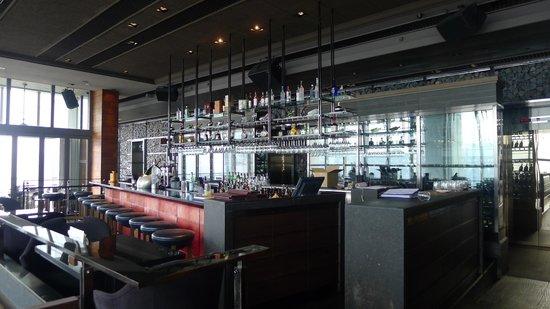 Wooloomooloo Prime (Tsim Sha Tsui): Nice bar area at Wooloomooloo Prime