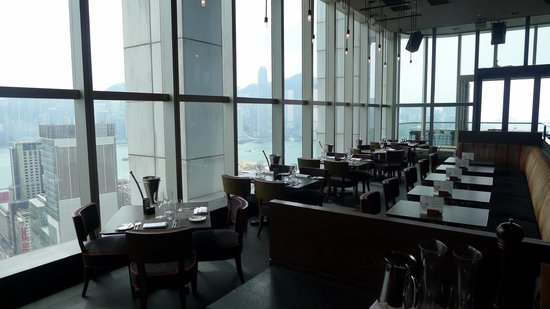 Wooloomooloo Prime (Tsim Sha Tsui): Wooloomooloo Prime - Nice seating area / lovely views