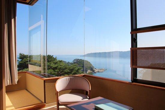 Jodogahama Park Hotel: 部屋からの眺め