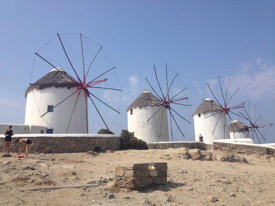 Glam Mykonos: windmill